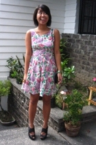 Topshop dress - the Librarians shoes - abate x payless purse