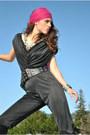 Jessica-simpson-boots-80s-jumpsuit-vintage-jumper