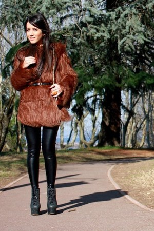 asos coat - Jeffrey Campbell boots