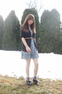 Blue-all-that-jazz-dress-gray-vera-wang-sweater-white-tights-purple-handed