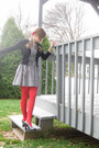 White-h-m-dress-black-kohls-sweater-red-tights-black-unlisted-shoes-red-