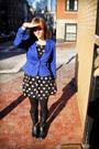 Black-madden-girl-boots-black-polka-dotted-h-m-dress-black-sweater-leggings