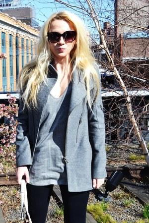 wool McQ by Alexander McQueen jacket - HUE leggings