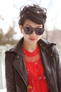Red-moms-old-dress-dress-black-urban-behavior-jacket-maroon-zenni-optical-su