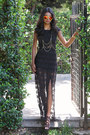 Black-lace-black-swan-dress