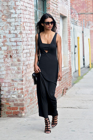 black black Tobi dress