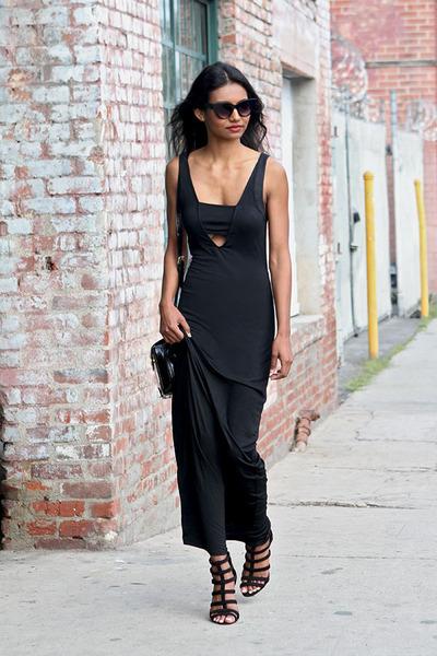 black black Tobi dress