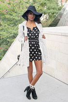black spots dots H&M dress