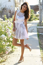 periwinkle glitter asos dress