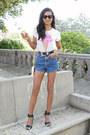 White-ice-cream-aeropostale-top