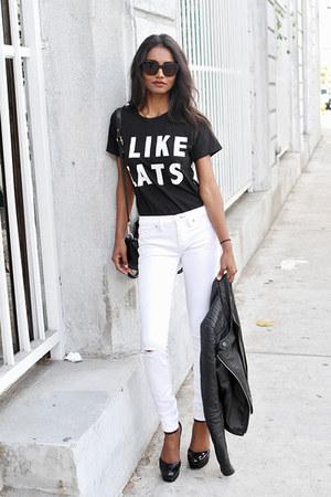 black black Batoko shirt - white white dittos jeans