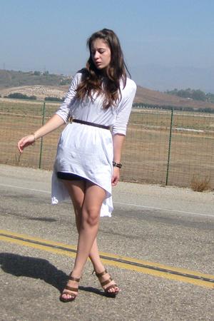 f21 dress - Target belt - Ross shoes - Target skirt