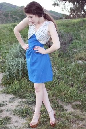 vintage dress - Jessica Simpson shoes - Leviticus necklace