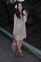 haute hippie dress - American Apparel dress - gojanecom shoes - Marc by Marc Jac