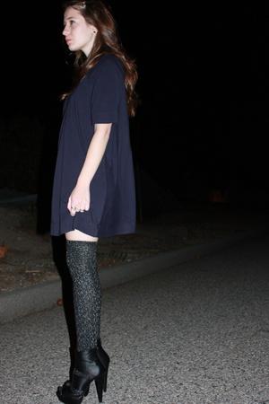 forever 21 dress - Nordstrom tights - gojanecom shoes