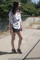 Target blouse - Target skirt - Forever21 shoes