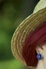 Polka-dot-forever-21-hat-forever-21-bodysuit-color-block-forever-21-skirt