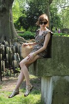 thrifted vintage bag - Chanel sunglasses - Kate Kanzier sandals - casio watch -
