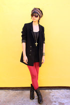 H&M blazer - Joy & Peace boots