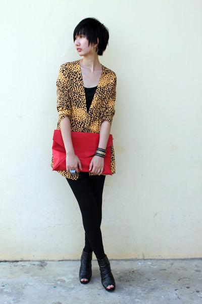 from Seoul bag - Mango leggings - from Seoul blazer