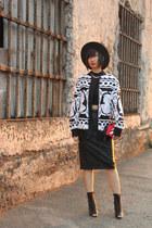 KTZ jacket - Katie Judith bag - Zara skirt - Wittner heels - Forever 21 top
