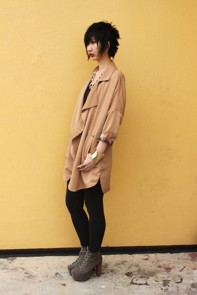 from hong kong blazer - Novo shoes - Mango leggings