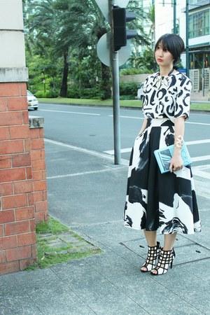 villains sf shoes - Jaspal skirt - Zara top