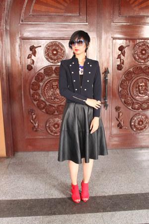 Jessica Simpson shoes - From South Korea jacket - Zara skirt