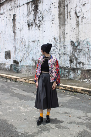 Venila Suite shoes - H&M jacket - Zara skirt