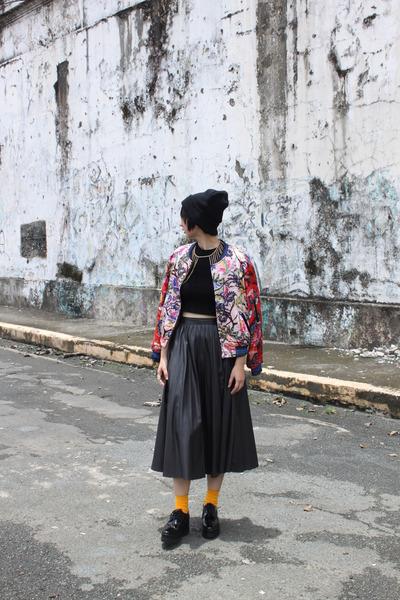 Venila Suite shoes - H&M jacket - Zara skirt
