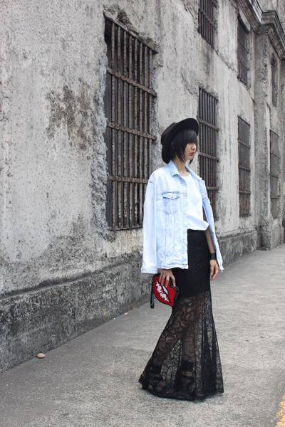 Zara jacket - Sportsgirl shirt - Katie Judith bag - Nine West heels - H&M skirt