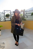 Zara jacket - Hermes bag - Repetto shoes