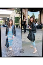 Missoni dress - Givenchy bag - Repetto flats