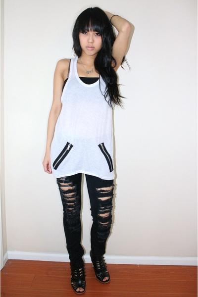 XXl - jeans - shoes