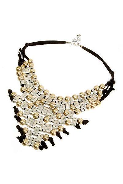 silver Talullah Tu necklace