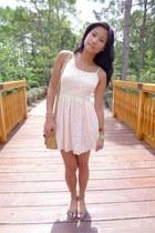 peach Forever 21 dress