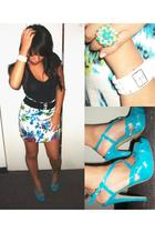 forever 21 belt - forever 21 accessories - forever 21 skirt - Agaci shoes - fore