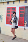 Heather-gray-lace-back-t-joa-shirt-navy-crossbody-rebecca-minkoff-bag