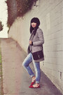 Heather-gray-sheinside-coat-blue-boyfriend-zara-jeans