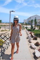 AMERICAN VINTAGE dress - Panama hat - Bimba & Lola sandals - Ray Ban glasses