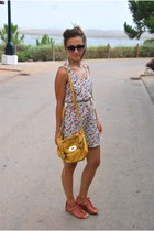 Bimba & Lola sandals - AMERICAN VINTAGE dress - Mulberry bag - Prism glasses