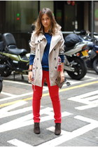 Massimo Dutti boots - Kate Moss for Topshop jeans - Massimo Dutti jacket - Topsh