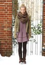 Shoes-zara-dress-only-jacket-hallhuber-scarf-hm-socks