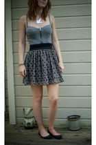forever 21 dress - forever 21 skirt - Wet Seal necklace - Fairy Tales are True