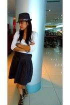 People are People hat - Bayo skirt - Zara top