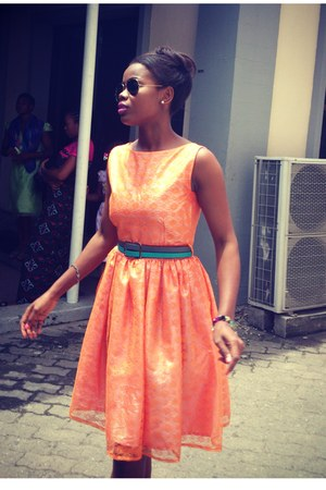 two in one belt - lace DIY dress - aviator sunglasses