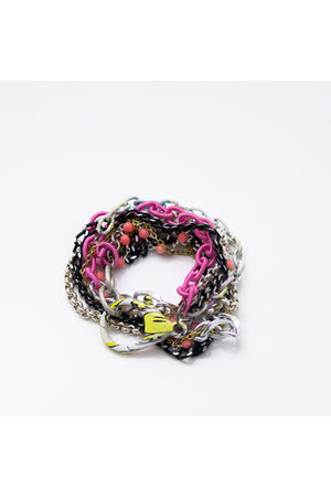 pink Tarnish bracelet