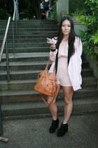Kagui boots - josh goot blazer - Shilla bodysuit