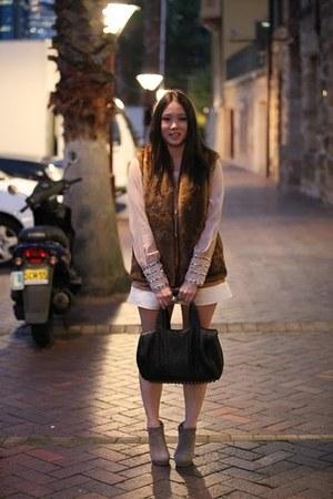 rubi boots - rocco Alexander Wang bag - vintage top - Jayson Brunsdon skirt - fa