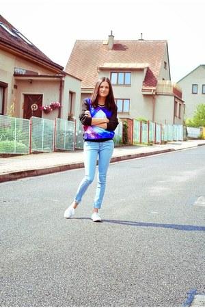 Keds shoes - dresslily jeans - Nastyl sweatshirt